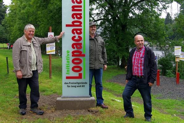 Initiatoren der Initiative Loopacabana