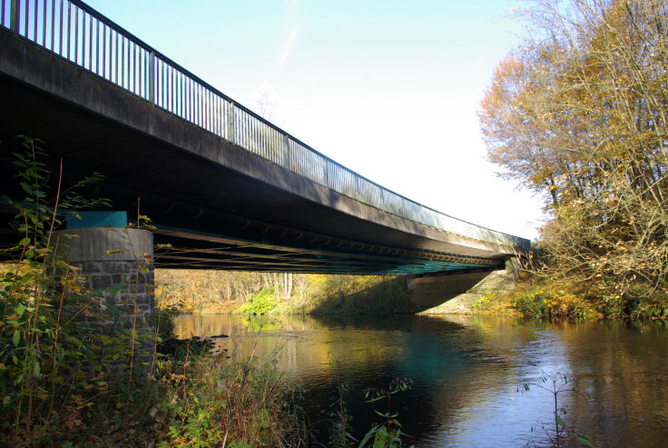 B55 Brücke über die Agger