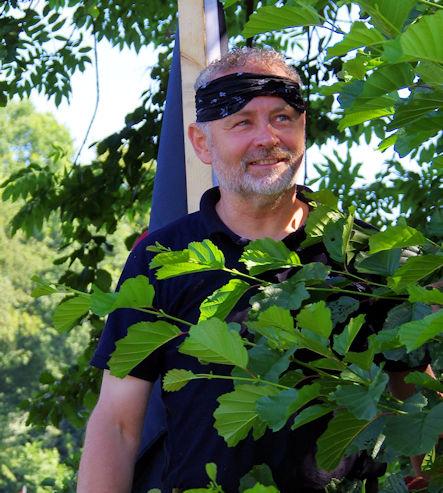 Pirat mit Kopftuch