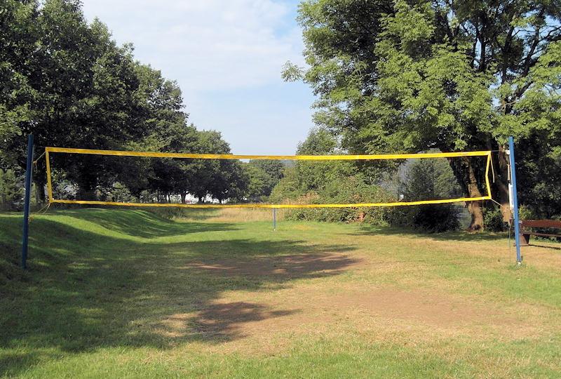 Neues Volleyballnetz